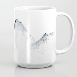 MOUNT EVEREST mountainsplash grey Coffee Mug