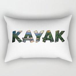 Kayak Lover Rectangular Pillow