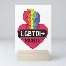 Pride LGBTQI - Love Wins Mini Art Print