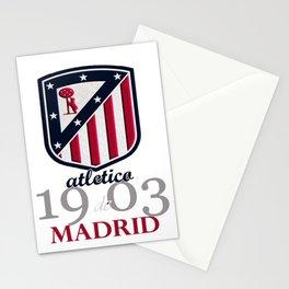 Atletico Madrid club football Stationery Cards