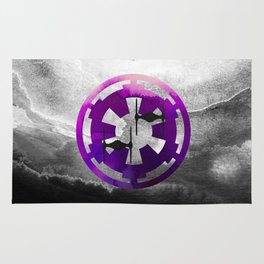 Star Wars Imperial Tie Fighters in Purple Rug
