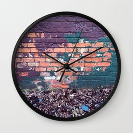 Past Present and Future Wall Clock