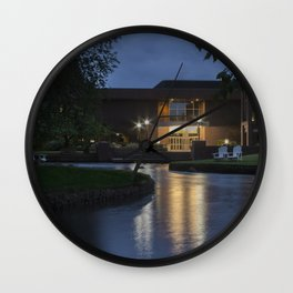 Evening Reflection Wall Clock