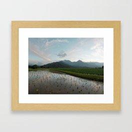 Hawaii 2 8x24 Framed Art Print