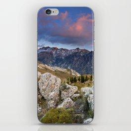 """""""Mountain Light"""". Sunset at the Alayos. iPhone Skin"""