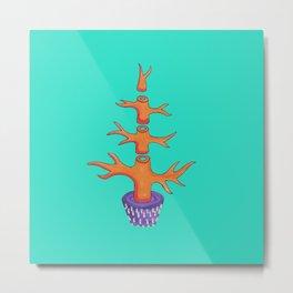 BlueGum Tree Metal Print