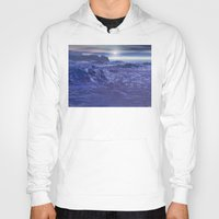 geology Hoodies featuring Frozen Sea of Neptune by Phil Perkins