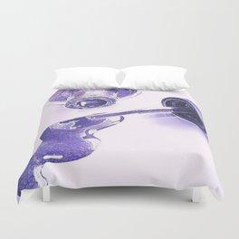 Purple Polish Duvet Cover