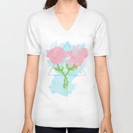 Water[color] the Flowers Unisex V-Neck