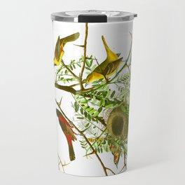 Orchard Oriole Bird Travel Mug