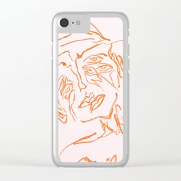 men are from mars Clear iPhone Case
