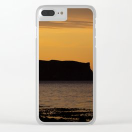 Midsummer night in Iceland Clear iPhone Case