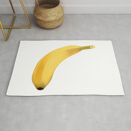 Banana Real Funny Yellow Ripen Fruit Rug