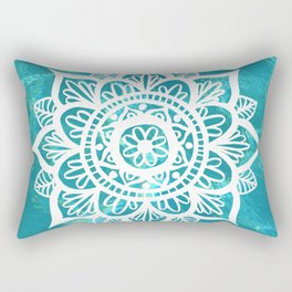 Water Mandala Rectangular Pillow