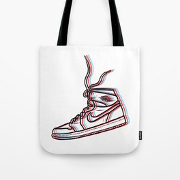 Sneaker Art 3D Air Jordan 1 Tote Bag