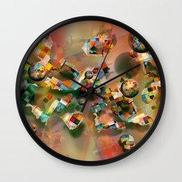 Island Paradies Wall Clock