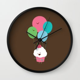 A Light Snack Wall Clock