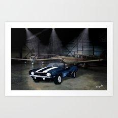 camaro ss Art Print