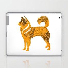 Golden Husky Dog Laptop & iPad Skin