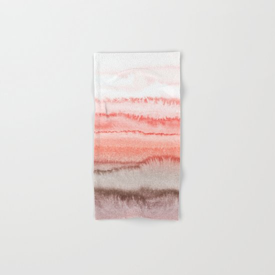 WITHIN THE TIDES CORAL DAWN Hand & Bath Towel