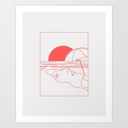 The Summer Art Print