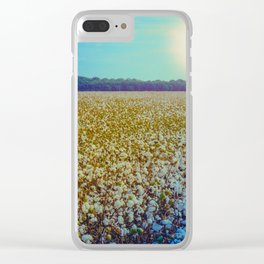 Rising Cotton Clear iPhone Case