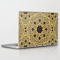 arabic Laptop & iPad Skins featuring arabic pattern by los_ojos_pardos