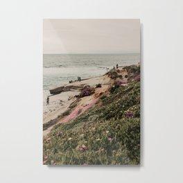 La Jolla Beach | Fine Art Travel Photography Metal Print
