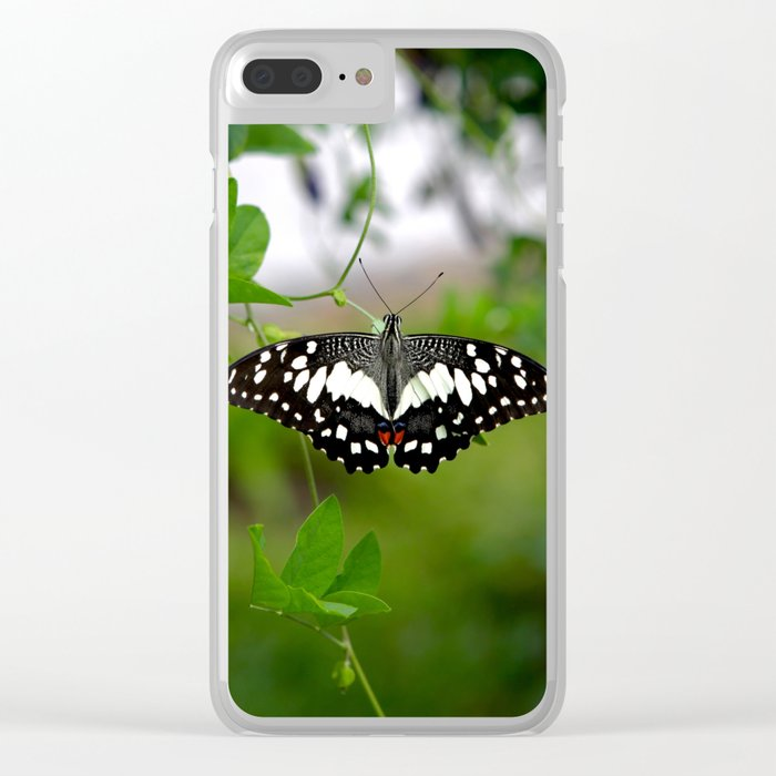 Butterfly Small Clear iPhone Case