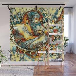 AnimalArt_OrangUtan_20170904_by_JAMColorsSpecial Wall Mural