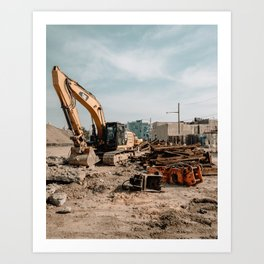 Gentrification, Philadelphia Art Print