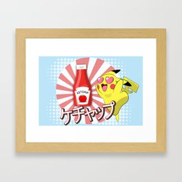 Ketchup Love Framed Art Print