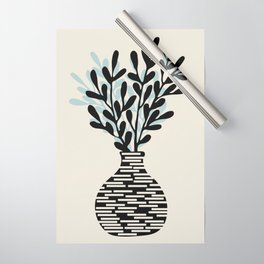 Still Life with Vase and Tree Branches Wrapping Paper