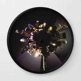 Planet Austin Wall Clock