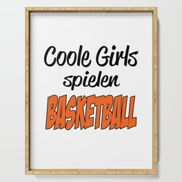 Girls - Basketball - Cool Serving Tray
