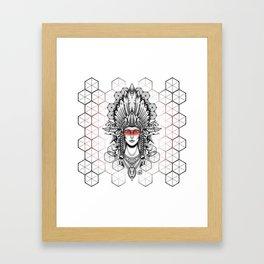 Geometric Indian Framed Art Print