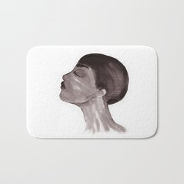 Woman ink 05 Bath Mat