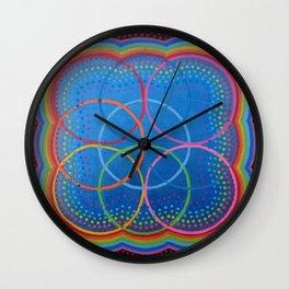 cube of life Wall Clock