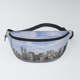 Sandwiched NYC Skyline Fanny Pack