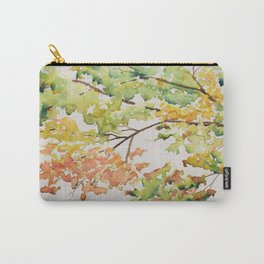 Watercolour Fall Tree Carry-All Pouch