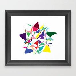 Cosmic Star Framed Art Print