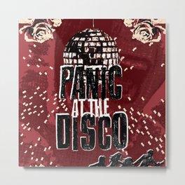 Panic! At The Disco Poster Metal Print