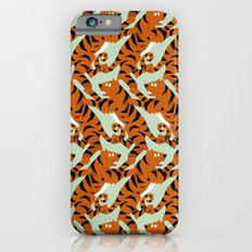 Tiger Conga pattern iPhone 6s Slim Case