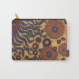 Summertime Batik Carry-All Pouch