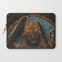 Temples and Architecture of Kathmandu City, Nepal 003 Laptop Sleeve