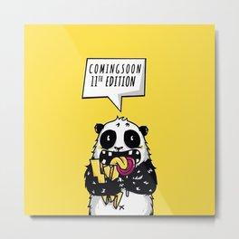 comingsoon panda Metal Print
