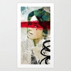 Saigon Sally Art Print