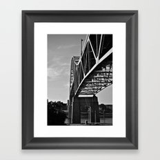 Sagamore Bridge Framed Art Print