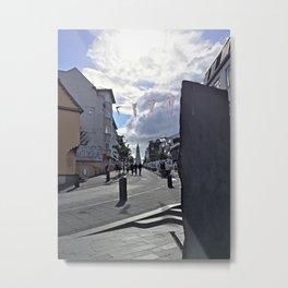 Art Walk in Downtown Reykjavík Metal Print