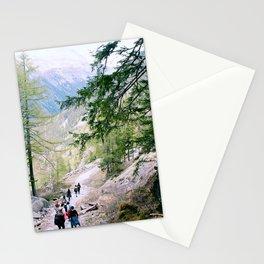 Hiking in Chamonix Stationery Cards